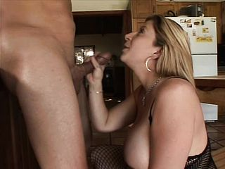 Sara Jay Thumbs Her Flamy Muff While Her Hatch Takes His Stiff Dark Hued Wood To Ejaculation