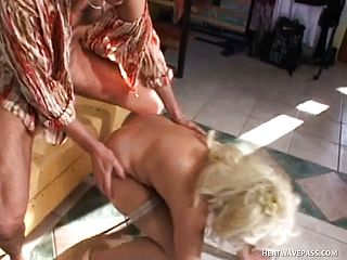 50 Year Senior Mandy Still Has It Going On As She Humps This Kinky Youthfull Guy