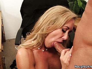 Brandi Love Plays The Insatiable Assistant And Gets Down At The Office