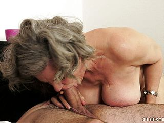 She Gives Him Some Head, Gets Nailed And Deepthroats On His Wood Again