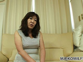 Japanese Grandmother Demonstrates She Still Has A Few Tricks Up Her Vulva And Disrobes