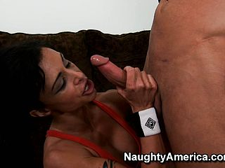 Clits Jade Produces A Juicy Hard On Deep Throating Suck Off Then Gets Slurped