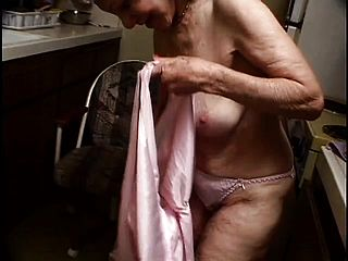This Insatiable Grandma With Puckered Figure Sure Needs Her Pipes Cleared