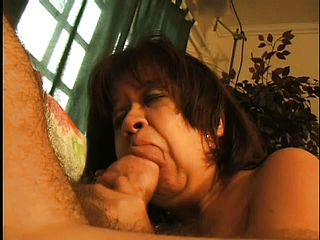 This Midget Grandmother Opens Herself Up For This Aged Trimmed Man To Penetrate