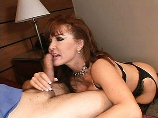 Big Titted Red Haired Mummy Gets Some Tough Rectal Approach From A Lengthy Chisel