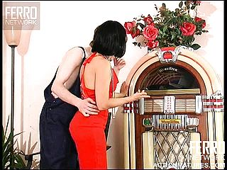 Wild Black Haired Mature In A Super Sexy Crimson Sundress Alana Has A Youthfull Guy Fulfilling Her Needs
