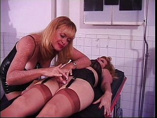 Kinky Victim Stretches Her Gams Broad And Takes Some Fierce Penalty